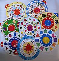 Карусель. Учимся считать (комплект из 8 кругов)