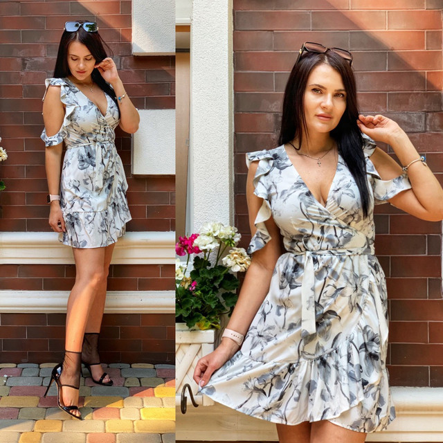 модное молодежное платье