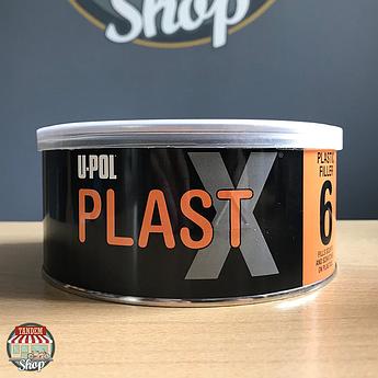 Шпатлёвка для пластика U-POL PLAST X 6, 600 мл