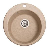 Мойка кухонная Пони, цвет - песок (ДхГ - 475х175)