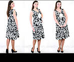 Платье сарафан белый коттон летний джинс  50,56,58, пл 158., фото 5