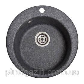 Мойка кухонная Solid Пони, чёрный (ДхГ - 475х175)