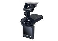 Автомобильный видеорегистратор DVR-198 HD с ночной съемкой Черный