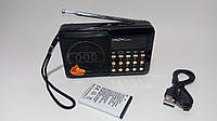 Радиоприемник RRedSun RS-044U, FM 87-108 Mhz, USB/microSD, mp3, аккумулятор Li-Ion 1200mAh BL-5C