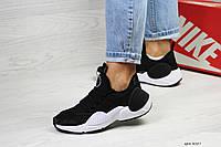Кроссовки Nike Air Huarache E.D.G.E  черные (Реплика ААА+), фото 1