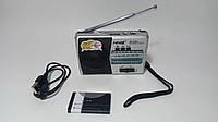 Радиоприемник NNS NS-838U, FM/AM/SW, USB/microSD, mp3, аккумулятор Li-Ion 600mAh BL-5C