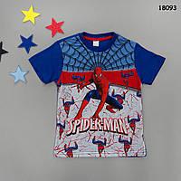 Футболка Spiderman для мальчика. 1-2;  5-6 лет, фото 1