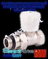 SD FORTE Кран радиаторный прямой с антипротечкой 1/2x1/2 Classiс