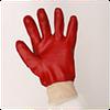 Перчатки с ПВХ покрытием, красные (цену уточняйте)