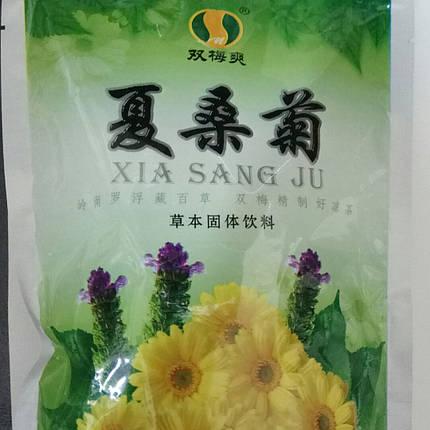 Травяной напиток Гранулы Ся Сан Цзюй Tian Wu (Чай ТяньВу)- очищение печени и  улучшение зрения, 20 пак*10 гм., фото 2