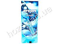 """Освежитель воздуха AREON """"Liquid"""" жидкий листик Oxigen 5мл 60069"""