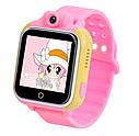 Детские Умные часы с GPS Q200 розовые, фото 2