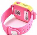 Детские Умные часы с GPS Q200 розовые, фото 5