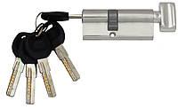 Цилиндровый механизм USK B-70 (30x40) ключ/поворотник Старая бронза, фото 1