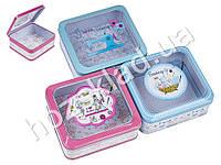 """Коробка для хранения """"Модельер"""" металлическая квадратная 14х13х5,5см расцветки ассорти (цена за 1шт)"""