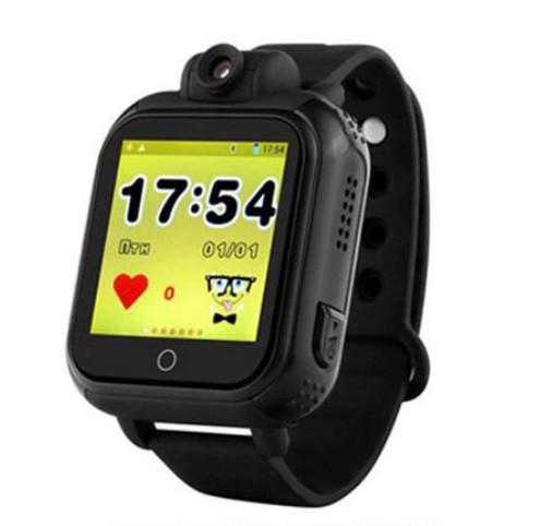 Детские Умные часы с GPS Q200 черные