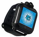 Детские Умные часы с GPS Q200 черные, фото 3