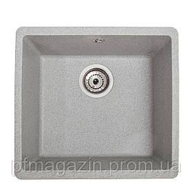 Мойка кухонная Solid Вега, серый (ДхШхГ-440х420х200)