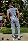 Мужской летний спортивный костюм найк, фото 6