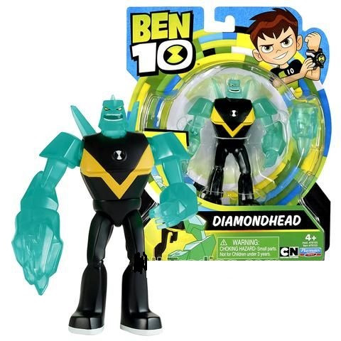 Бен 10 фигурка пришельца Алмаз 12,5 см, Diamondhead Оригинал из США