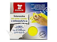 Салфетка для стекла микрофибра Kuchcik 30x30см 1шт.