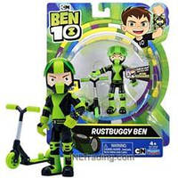 Бен 10 Фигурка Бен и гоночный скутер - развалюха, Rustbuggy Ben 10, оригинал из США, фото 1