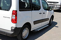 Боковые пороги X5-тип Peugeot Partner Tepee