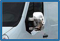 Накладки на зеркала (ABS, 2шт) Renault Master