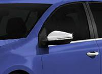 Накладки на зеркала (нерж.) Volkswagen Golf 7