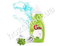 """Средство для мытья посуды Clime """"Зеленый чай и мята"""" 500мл CDGM05 пуш-пул"""