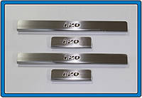 Hyundai IX-20 Накладки на пороги