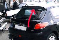 Peugeot 206 Блэнда над стеклом под покраску