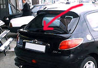 Peugeot 206 спойлер под покраску