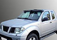Nissan Navara Козырек на лобовое стекло на раме, фото 1