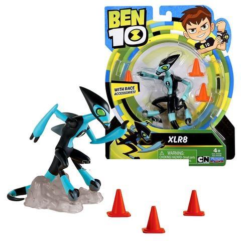 Фигурка Бен Тен 10 Молния 12,5 см, Ben 10 XLR8 Figure, оригинал из США, фото 1