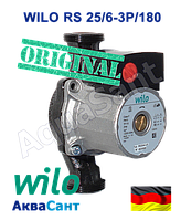 Циркуляционный насос WILO RS 25/6-3 P/180 (оригинал), фото 1
