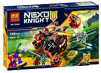 """Конструктор Bela 10481 (Аналог LegoNexo Knights 70313) """"Лавинный разрушитель Молтора""""198 деталей, фото 1"""