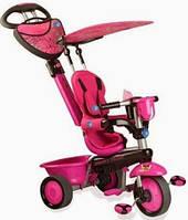 Детский велосипед от года с ручкой Smart trike Zoo Butterfly 1570200