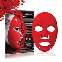 Маска преображающая с муцином и экстрактами 8 красных растений Double Dare OMG! Red + Snail Mask