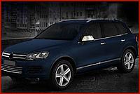 Нижний молдинг стекла Volkswagen Touareg 2010↗ (Omsa, 6 шт)
