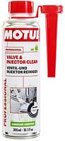 Motul Очиститель впускных клапанов и инжекторов в бензиновых двигателях VALVE AND INJECTOR CLEAN 300ML
