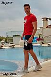Мужской летний комплект футболка шорты найк, фото 2