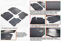 Renault Lodgy резиновые коврики Stingray Premium