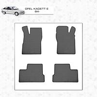 Opel Kadett резиновые коврики Stingray Premium