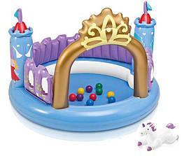 """Надувной игровой центр Intex """"Принцессы"""" 130х91 см"""