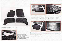 Mitsubishi Pajero Sport резиновые коврики Stingray Premium