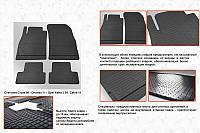 Opel Zafira C резиновые коврики Stingray Premium