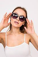 Стильные солнцезащитные очки LUREX - черный цвет, ONE SIZE (есть размеры), фото 1