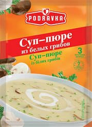 Новинки  Суп-пюре концентрат Podravka из белых грибов, пакет, 48 г