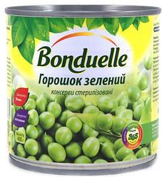 Новинки  Зеленый горошек Bonduelle, жестяная банка, 400 г